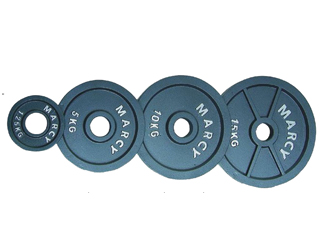 HUN505 Olympic cast iron weight plate